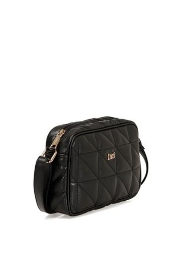 İnci Messenger / Askılı Çanta Siyah